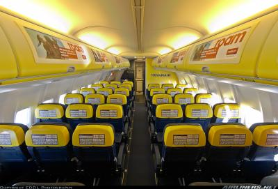 Ryanair info service client for Interieur avion ryanair