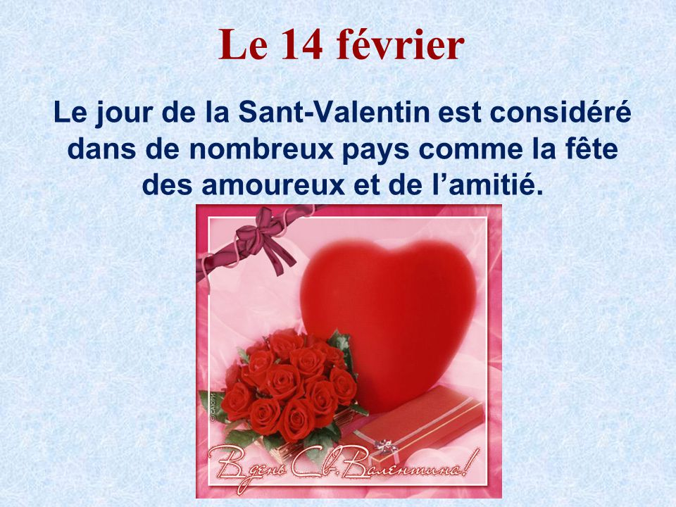 14 f vrier la saint valentin f te des amoureux info service client. Black Bedroom Furniture Sets. Home Design Ideas