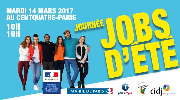 Le salon journ es jobs d t a paris info service client for Salon job etudiant paris