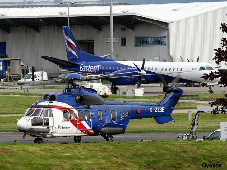 les services disponibles Eastern airways