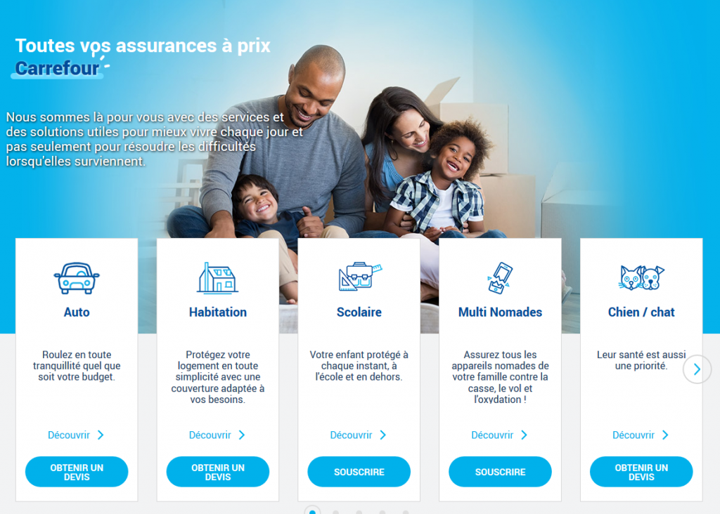 Grâce à nos conseillers, rentrez en contact avec le service client client et assistance carrefour assurances