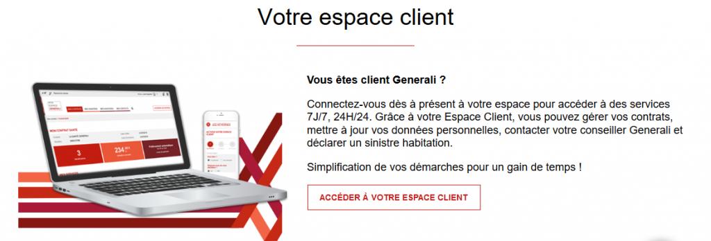Contacter le service client generali grace à notre service