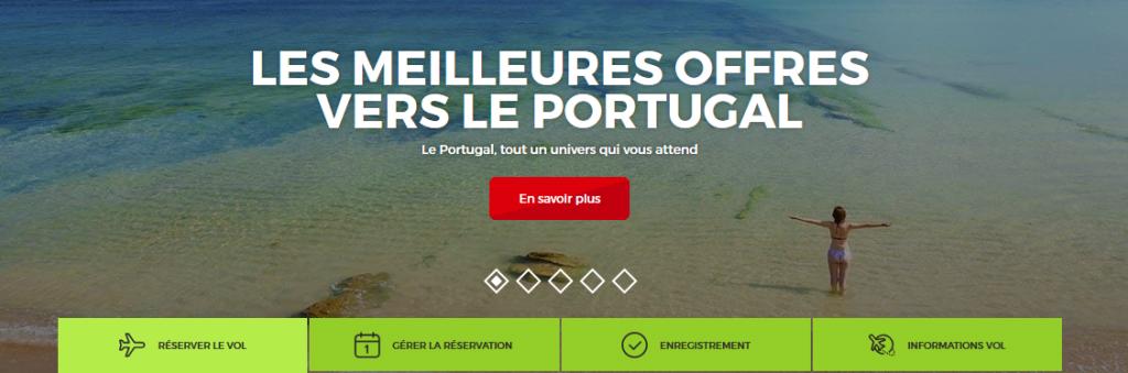 reservation d'un billet d'avion tap portugal à l'aide du service client