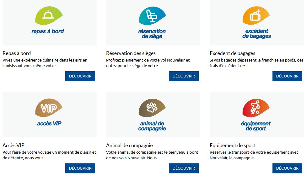 contacter le service client nouvelair pour connaitre les services + grace à infoservice-client.com