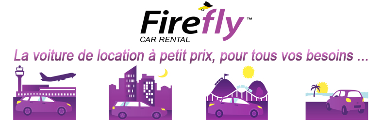 location véhicules firefly